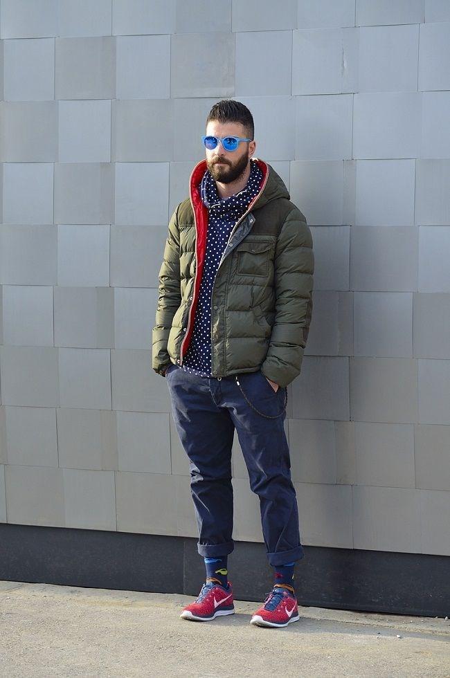 Áo khoác phao nam béo có mũ đẹp đông 2016 - 2017 bảnh bao cuốn hút ấm áp phần 8
