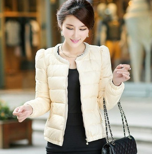 Áo khoác phao nữ dáng ngắn hàn quốc đẹp dễ thương đông 2016 - 2017 phần 2