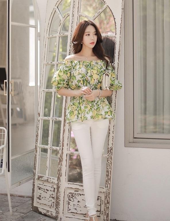 13 mẫu áo sơ mi nữ công sở kiểu hàn quốc đẹp xu hướng thời trang hot 2017 phần 11