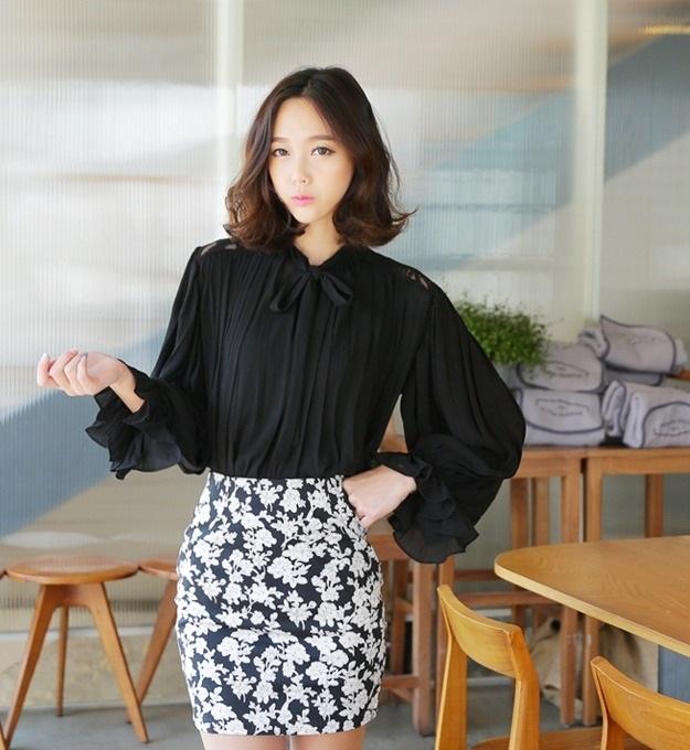 13 mẫu áo sơ mi nữ công sở kiểu hàn quốc đẹp xu hướng thời trang hot 2017 phần 6