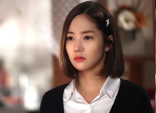 Tóc ngắn ngang vai duỗi cúp phồng đẹp giới trẻ Hàn Quốc yêu thích 2017 phần 6