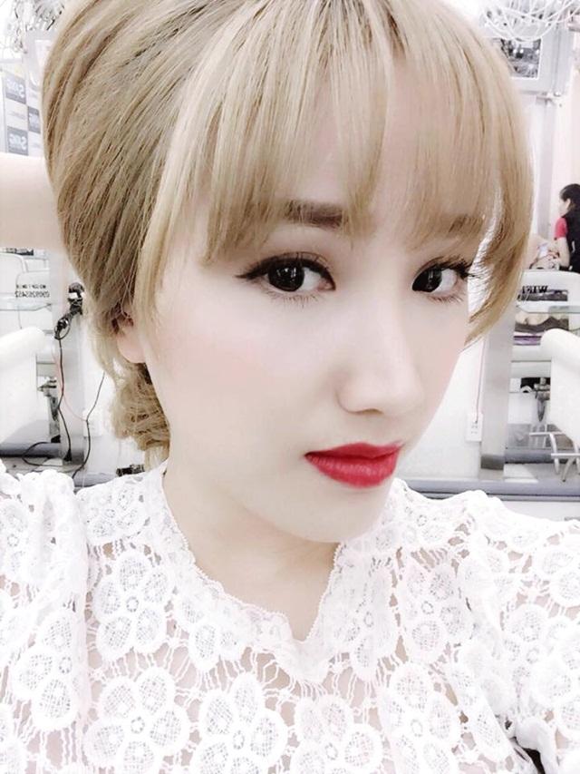 Màu tóc nhuộm đẹp của Bảo Thy quyến rũ sang trọng 2016 phần 4
