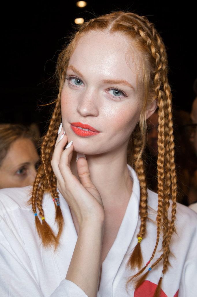 Những kiểu tóc đẹp nhất 2017 tại Tuần lễ thời trang New York phần 4