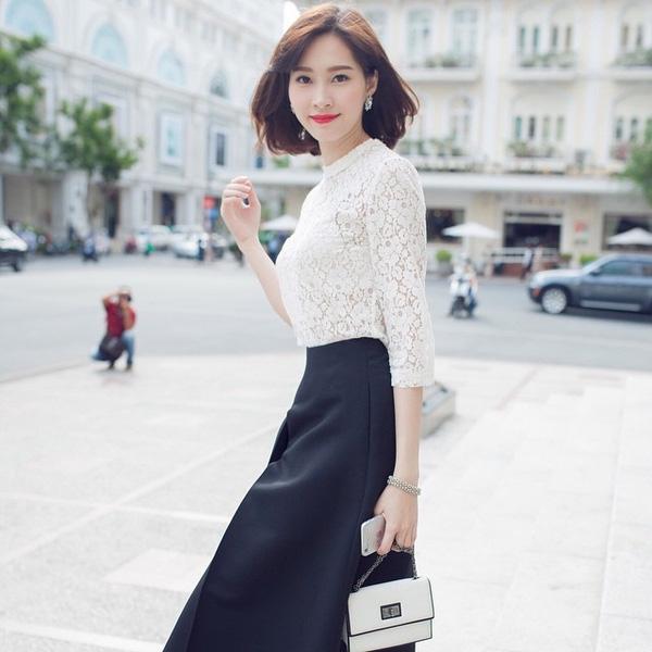 Trào lưu 4 kiểu tóc ngắn đẹp nhất 2017 sao Việt ưa thích phần 12