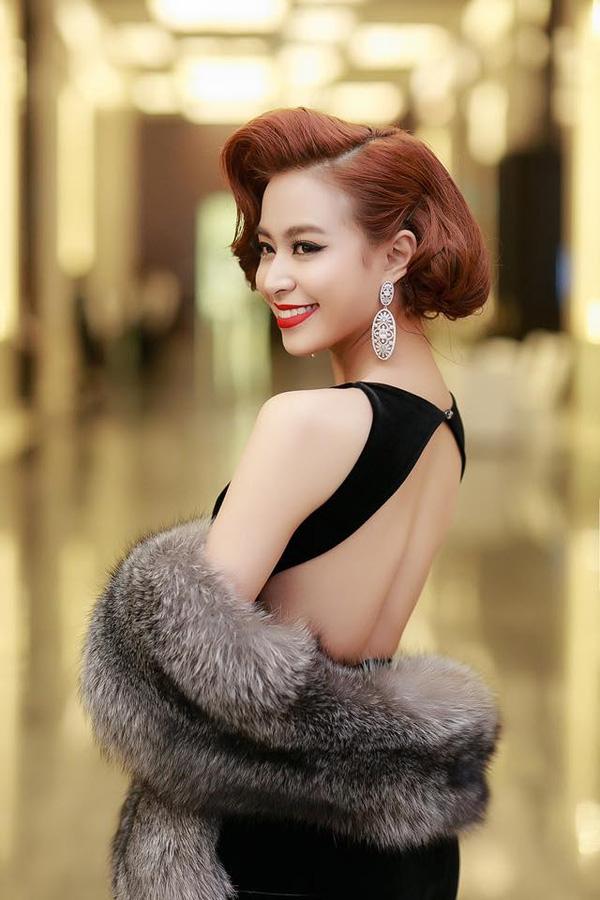 Trào lưu 4 kiểu tóc ngắn đẹp nhất 2017 sao Việt ưa thích phần 18