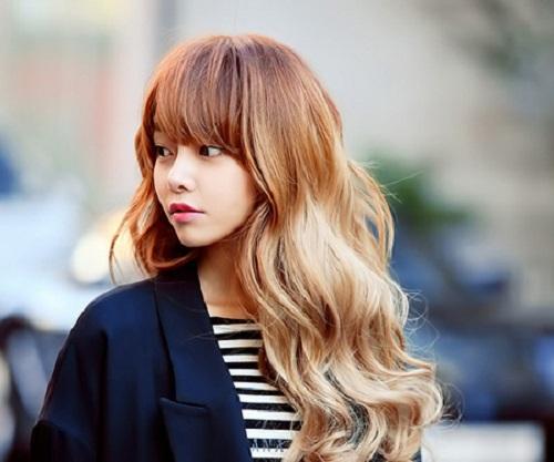 5 màu tóc nhuộm đẹp hot nhất 2016 phong cách hàn quốc phần 1