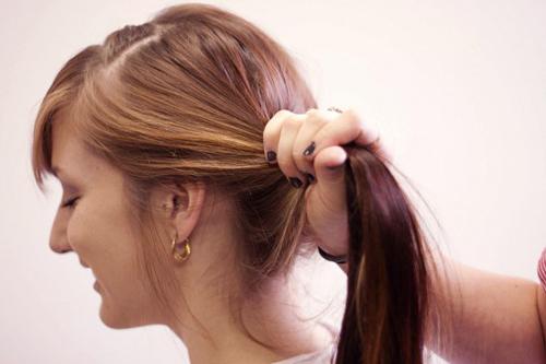 Cách tết tóc búi đẹp đơn giản tại nhà cho bạn gái 2016 phần 10