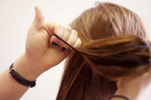 Cách tết tóc búi đẹp đơn giản tại nhà cho bạn gái 2016 phần 11