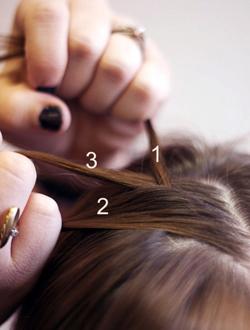 Cách tết tóc búi đẹp đơn giản tại nhà cho bạn gái 2016 phần 2