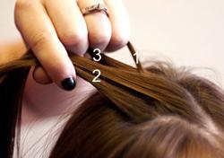 Cách tết tóc búi đẹp đơn giản tại nhà cho bạn gái 2016 phần 3