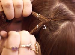 Cách tết tóc búi đẹp đơn giản tại nhà cho bạn gái 2016 phần 4