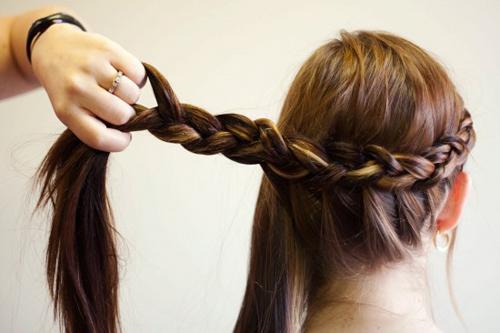 Cách tết tóc búi đẹp đơn giản tại nhà cho bạn gái 2016 phần 8