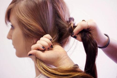 Cách tết tóc búi đẹp đơn giản tại nhà cho bạn gái 2016 phần 9