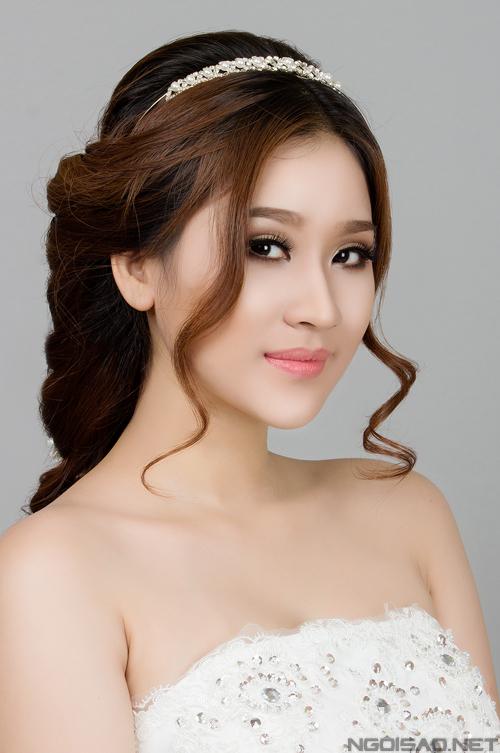 Những kiểu tóc cô dâu đẹp 2016 đơn giản cho mọi khuôn mặt phần 1