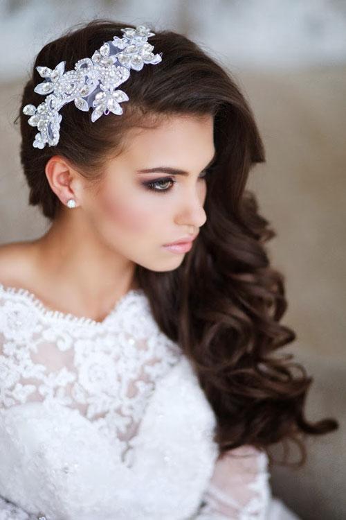 Những kiểu tóc cô dâu đẹp 2016 đơn giản cho mọi khuôn mặt phần 6