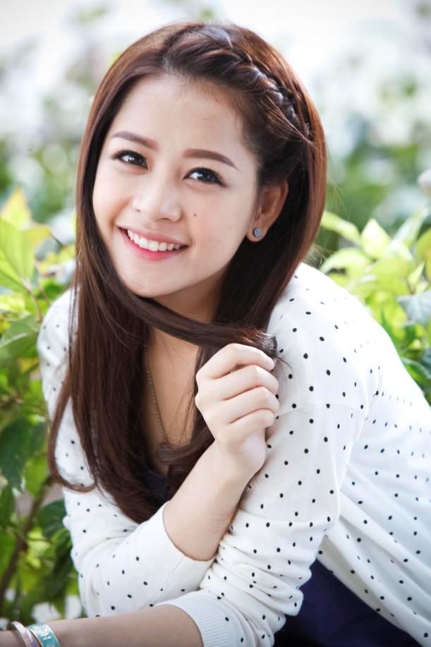 Tóc tết mái đẹp nhất hiện nay 2016 của hot girl Chi Pu phần 2