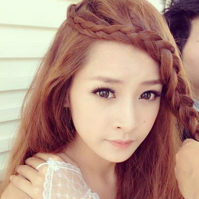 Tóc tết mái đẹp nhất hiện nay 2016 của hot girl Chi Pu phần 5