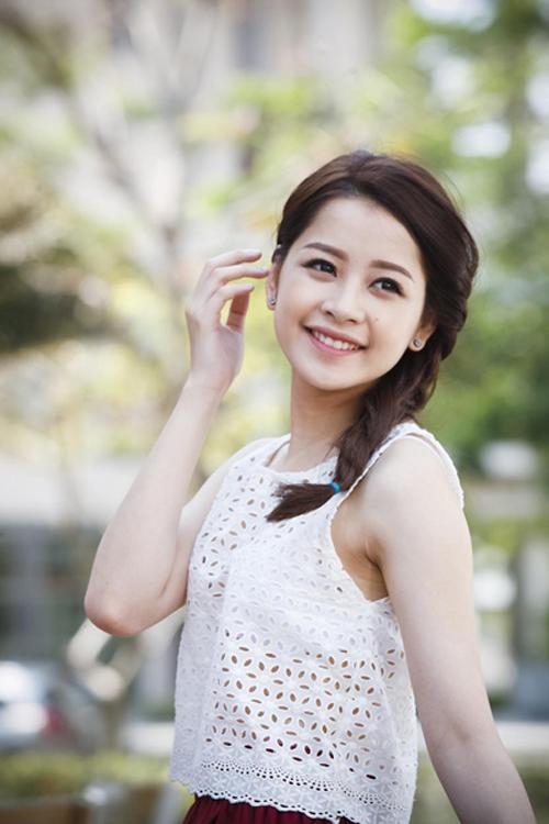 Tóc tết mái đẹp nhất hiện nay 2016 của hot girl Chi Pu phần 6