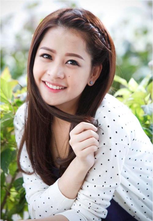 Tóc tết mái đẹp nhất hiện nay 2016 của hot girl Chi Pu phần 7
