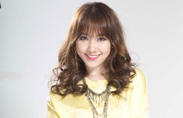 BST 14 kiểu tóc uốn xoăn retro đẹp Hari Won ưa chuộng hè 2017 phần 13
