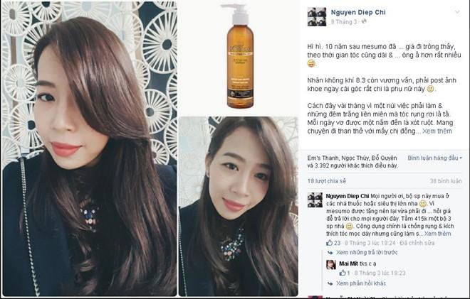 Cách ngăn rụng tóc tự nhiên hiệu quả nhất của sao Việt phần 3
