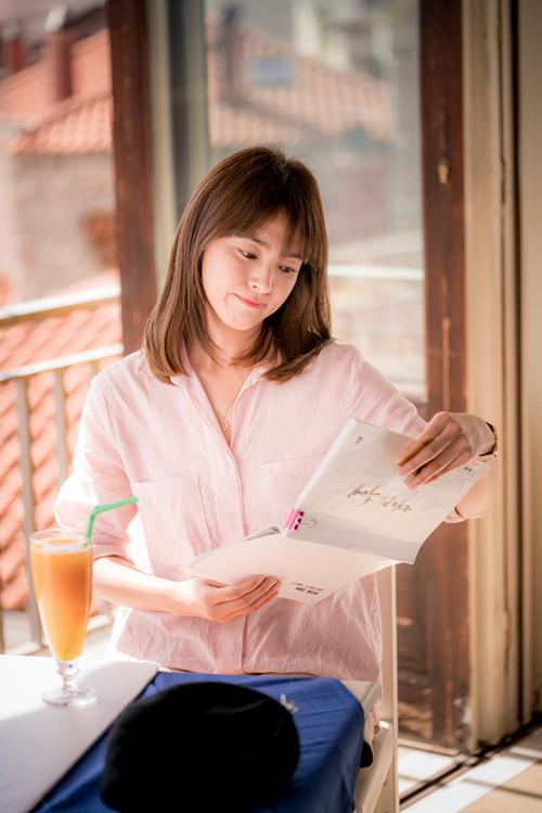 Kiểu tóc chấm vai của bác sĩ Kang Song Hye Kyo chính thức gây sốt 2016 phần 2