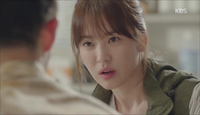 Những kiểu tóc đẹp của Song Hye Kyo trong Hậu duệ mặt trời 2016 phần 4