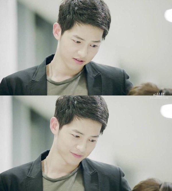 Kiểu tóc nam cắt ngắn đẹp của Song Joong Ki trong phim Hậu duệ mặt trời phần 1