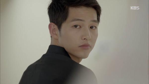 Kiểu tóc nam cắt ngắn đẹp của Song Joong Ki trong phim Hậu duệ mặt trời phần 5