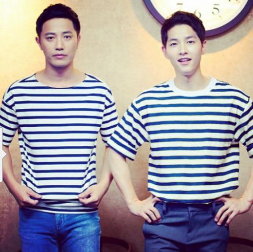 Kiểu tóc nam cắt ngắn đẹp của Song Joong Ki trong phim Hậu duệ mặt trời phần 8