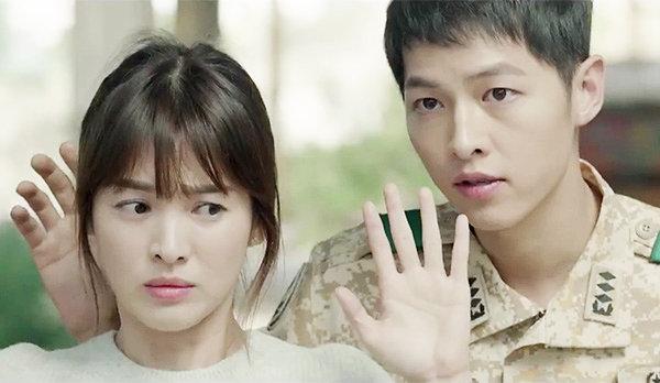Kiểu tóc nam cắt ngắn đẹp của Song Joong Ki trong phim Hậu duệ mặt trời phần 9