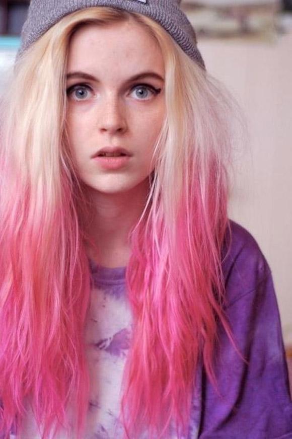 Những màu tóc nhuộm đuôi đẹp nhất hiện nay 2016 cho giới trẻ phần 12