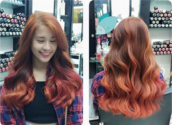 Những màu tóc nhuộm đuôi đẹp nhất hiện nay 2016 cho giới trẻ phần 7