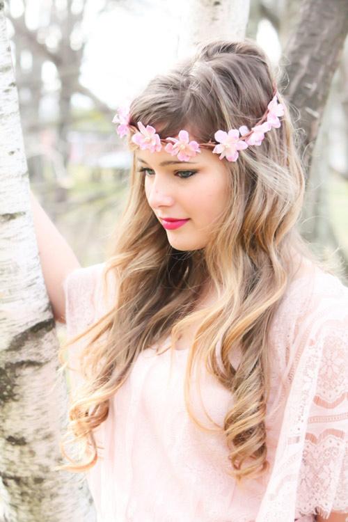 Tóc cô dâu cài hoa đẹp hot nhất trong mùa cưới năm nay 2016 phần 1