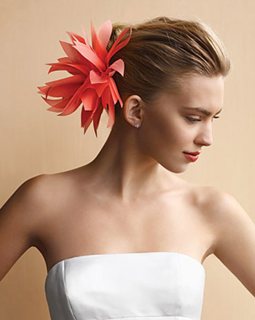 Tóc cô dâu cài hoa đẹp hot nhất trong mùa cưới năm nay 2016 phần 4