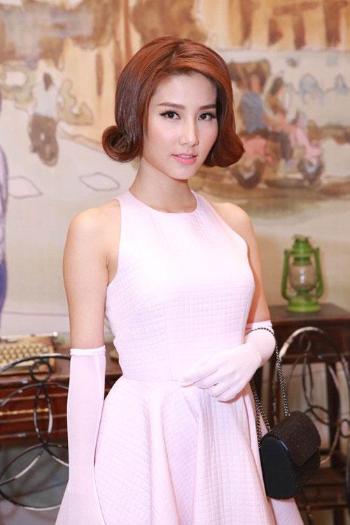 Tóc uốn xoăn ngắn cổ điển đẹp nhất 2016 của mỹ nhân Việt phần 3