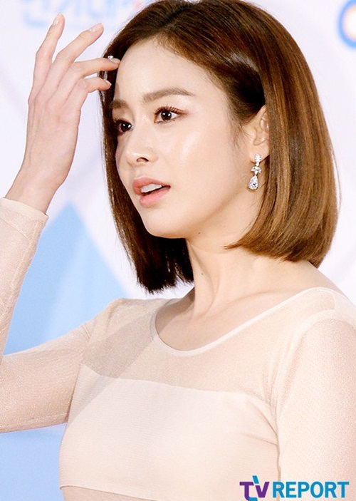Kiểu tóc bob ngắn đẹp 10 nữ hoàng showbiz Hàn Quốc phần 7