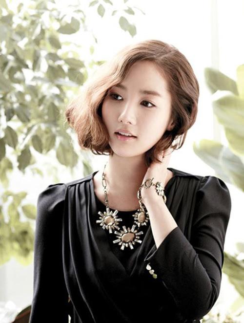 Kiểu tóc bob ngắn đẹp 10 nữ hoàng showbiz Hàn Quốc phần 8