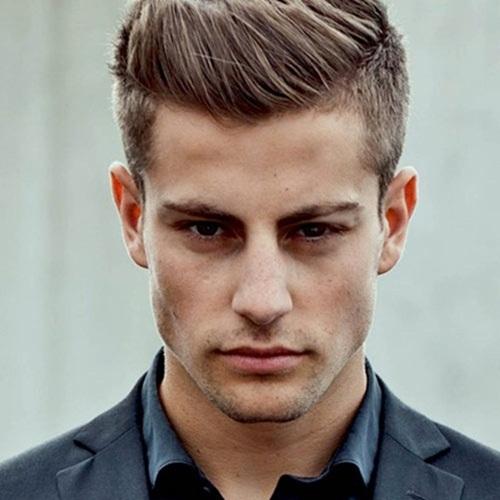Tóc nam ngắn cạo hai bên đẹp kiểu Pháp cho chàng lịch lãm 2017 phần 10