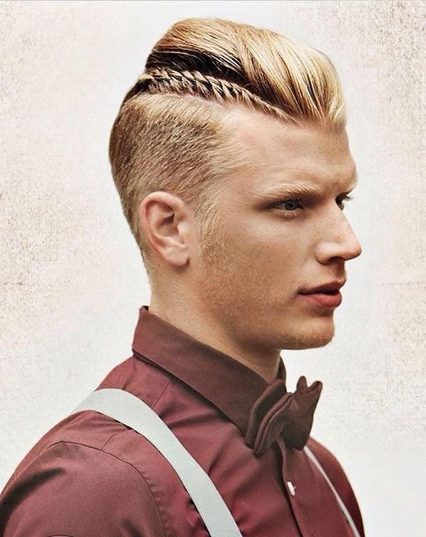 Tóc nam ngắn cạo hai bên đẹp kiểu Pháp cho chàng lịch lãm 2017 phần 8