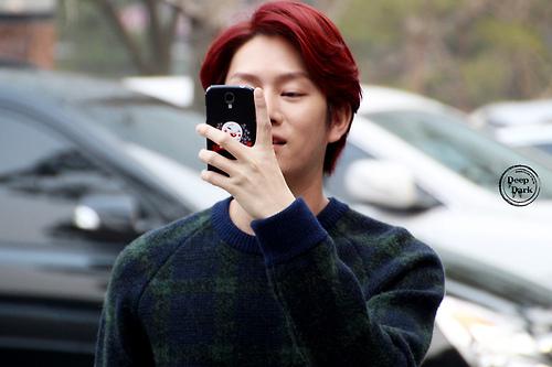 Tóc nam nhuộm màu tím đỏ đẹp cho chàng da sáng nổi bật 2017 phần 10