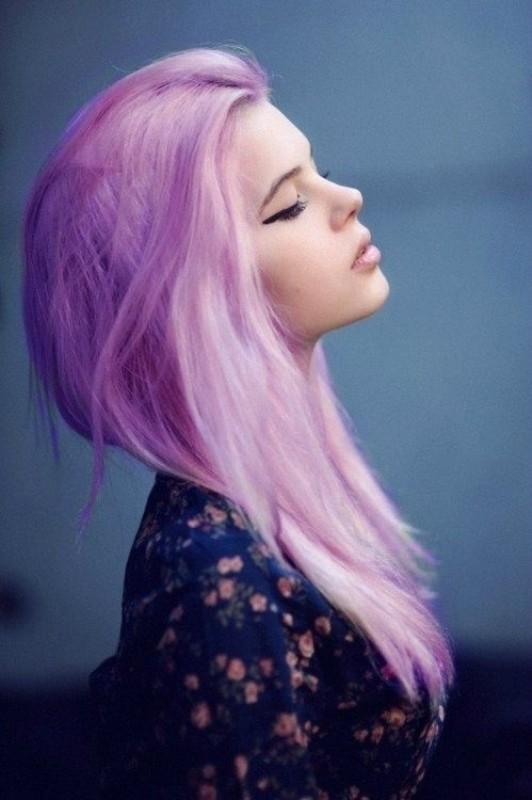 Tóc nhuộm màu tím khói đẹp được giới trẻ yêu thích nhất 2016 phần 13