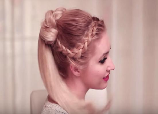 12 kiểu tóc tết mái viền đẹp 2017 phù hợp khuôn mặt dài cằm nhọn phần 8