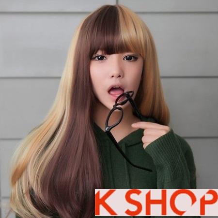 Lựa chọn kiểu tóc nữ đẹp phong cách Hàn Quốc cho bạn gái dạo phố hè 2017 phần 1
