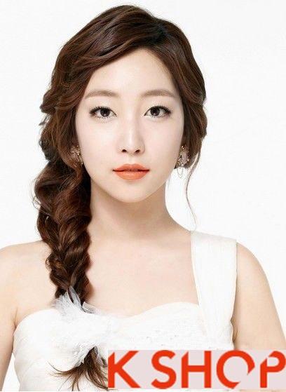 Lựa chọn kiểu tóc nữ đẹp phong cách Hàn Quốc cho bạn gái dạo phố hè 2017 phần 6