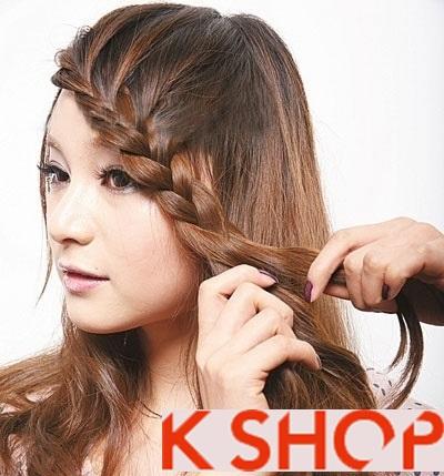 Lựa chọn kiểu tóc nữ đẹp phong cách Hàn Quốc cho bạn gái dạo phố hè 2017 phần 7