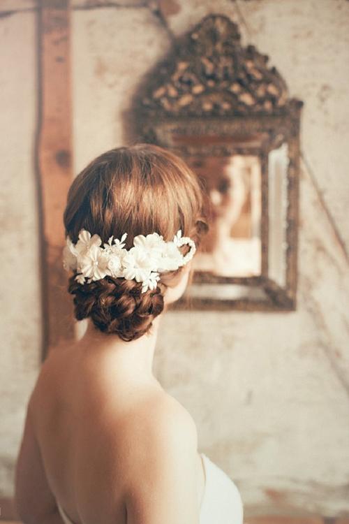 Gợi ý kiểu tóc cô dâu vintage đẹp mới nhất 2017 cho nàng tóc ngắn phần 3