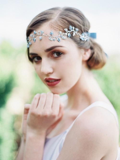 Gợi ý kiểu tóc cô dâu vintage đẹp mới nhất 2017 cho nàng tóc ngắn phần 5