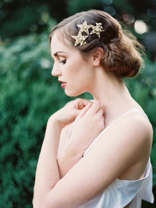 Gợi ý kiểu tóc cô dâu vintage đẹp mới nhất 2017 cho nàng tóc ngắn phần 6
