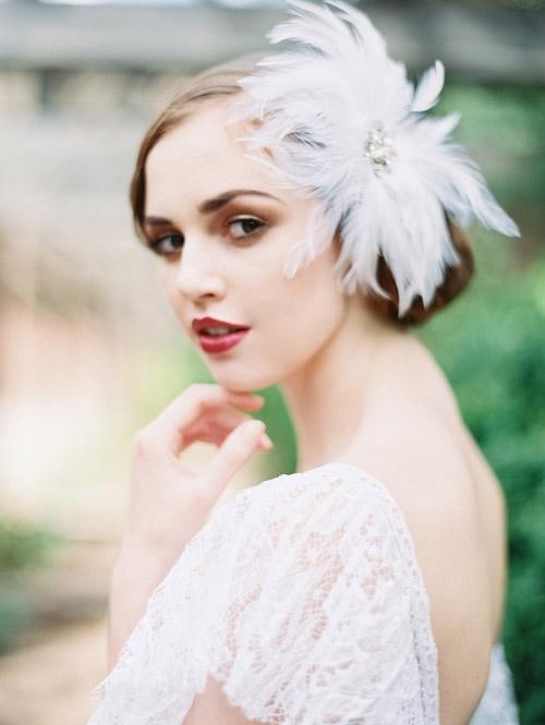 Gợi ý kiểu tóc cô dâu vintage đẹp mới nhất 2017 cho nàng tóc ngắn phần 7